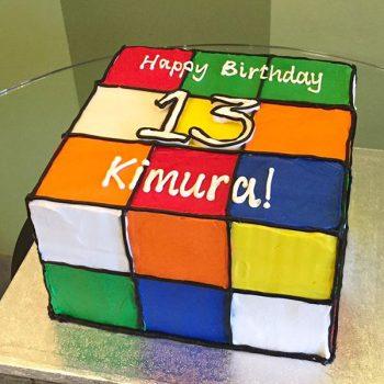 Rubik' s Cube Layer Cake