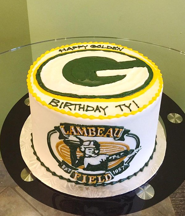 Sports Team Layer Cake - Packers