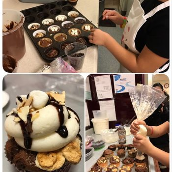 Rocky Road Cupcake Baking - Jasmyn
