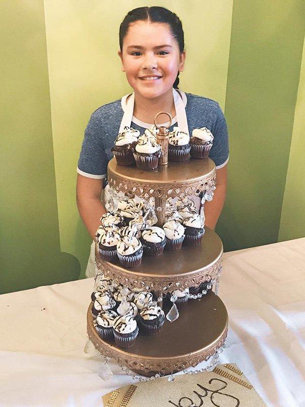 Rocky Road Cupcake Display - Jasmyn