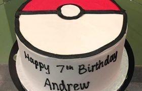 Pokémon Ball Layer Cake