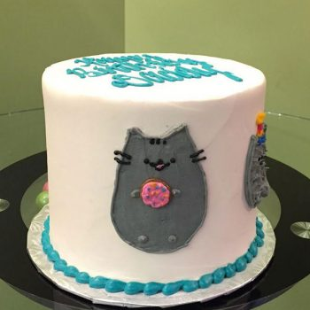 Pusheen Layer Cake