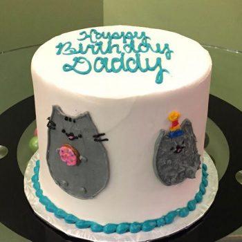 Pusheen Layer Cake - Top