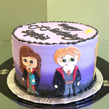 Harry Potter Character Layer Cake