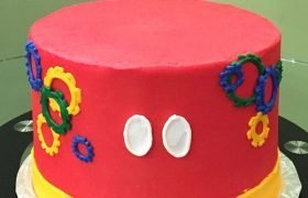 Mickey Mouse Clubhouse Layer Cake
