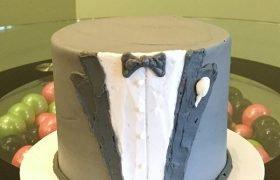 Tuxedo Layer Cake