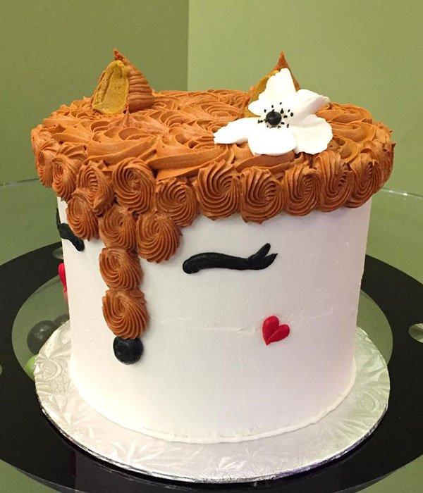 Fox Layer Cake - Side