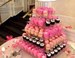 Astor Hotel Milwaukee Wedding Cupcakes - Square Acrylic Gallery