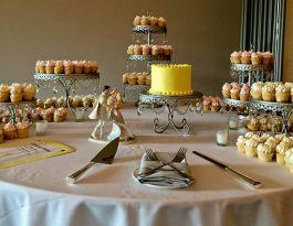 Boerner Botanical Gardens Milwaukee Wedding Cupcakes - Silver Chandelier Gallery