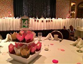 Country Springs Hotel Pewaukee WI Wedding Cupcakes - White Centerpiece Gallery