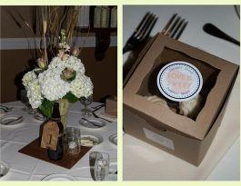 Delafield Hotel Wedding Cupcakes - Wedding Favors Gallery