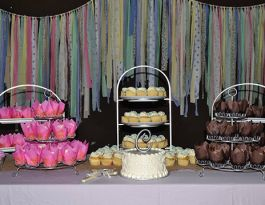 Grant Park South Milwaukee Wedding Cupcakes - Brushed Silver Gallery