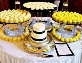 Renaissance Place Milwaukee Wedding Cupcakes - Glass Display Gallery