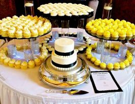 Renaissance Place Milwaukee Wedding Cupcakes - Glass Display Gallery
