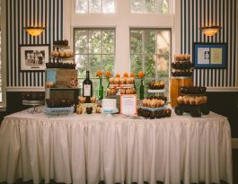 Ococonomowoc Lake Club Wedding Cupcakes - Vintage Gallery